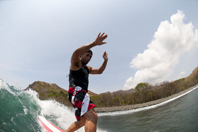 Robert Trujillo surfing Costa Rica - Creative Destruction