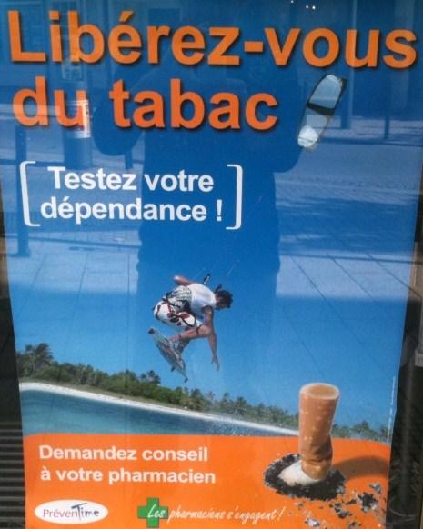 Libérez-vous du tabac…avec le Kite Surf !