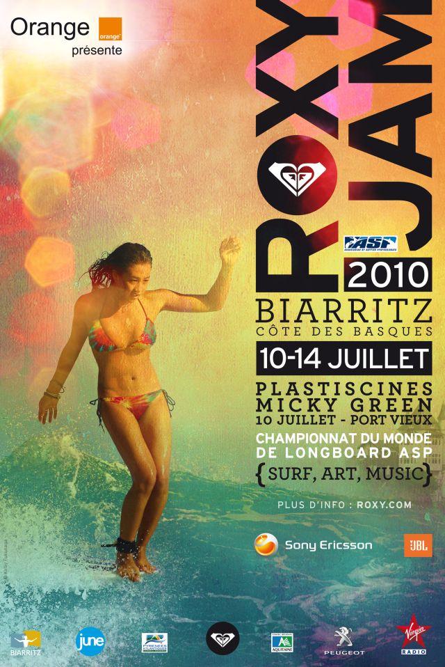 Événement Surf à Biarritz : les meilleures longboardeuses au Roxy Jam