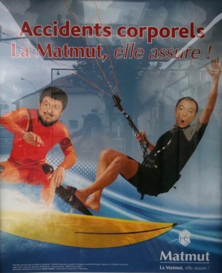 Mutuelle & Publicité : Chevallier et Laspalès se mettent au surf !