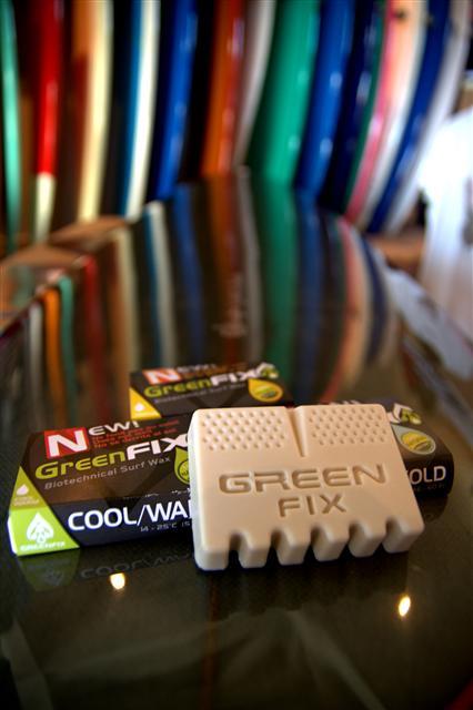 green fix - une wax pour planche de surf naturelle et ecologique - photo Sébastien Pellanne