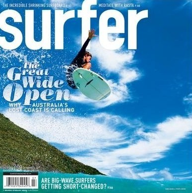 hank gaskell - surfer magazine - cover - july 2008