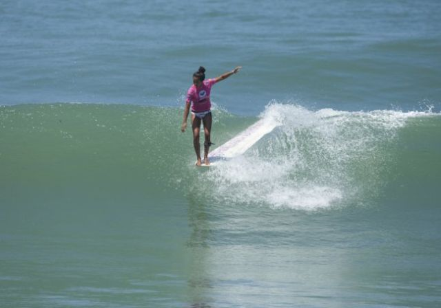 kelia moniz - longboard roxy jam - biarritz - photo Roxy