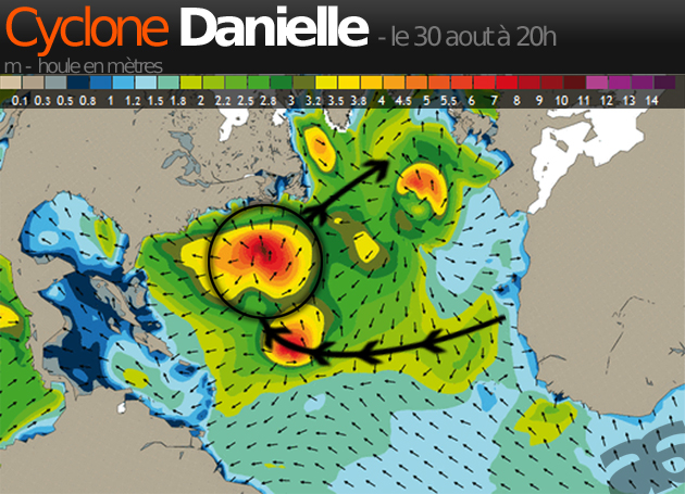 cyclone danielle - aout - septembre 2010 - copyright Allosurf.net