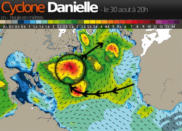 Cyclone Danielle : les surfeurs de l'Atlantique en alerte…