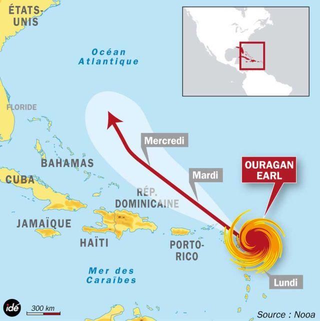 Cyclone Earl : le malheur des uns…