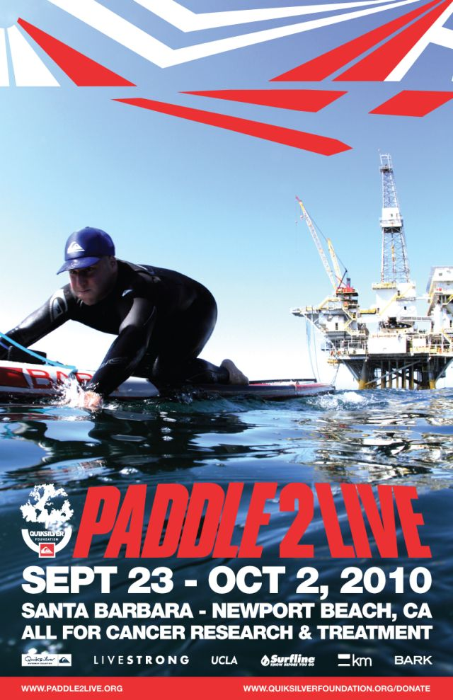 PADDLE2LIVE - Jack Marshall Shimko - Quiksilver Foundation - Livestrong