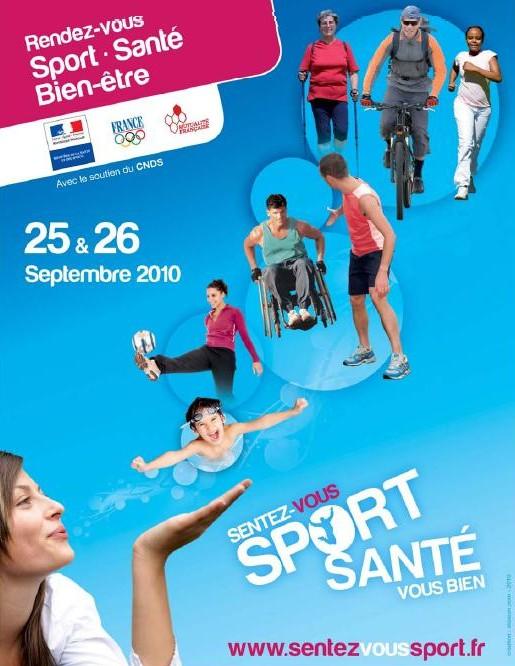 Ce Week-End : Sentez-vous Sport, Santé-Vous bien !
