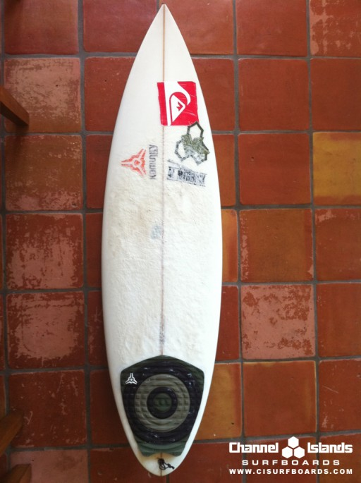 kelly slater semi pro surfboard - planche de surf de Kelly Slater - Channel Islands