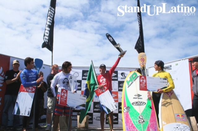 SUP World Tour Brésil : Antoine Delpero et Peyo Lizarazu Finalistes