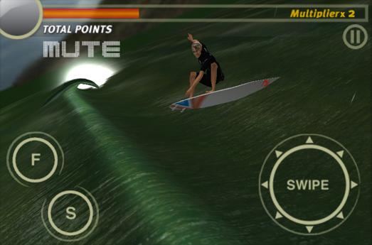Nouveau jeu vidéo de surf en application iPhone par Rip Curl