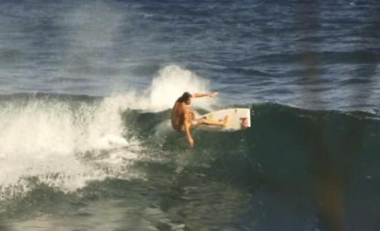 Clay Marzo : à quoi sert le nose pointu d'une planche de surf ???