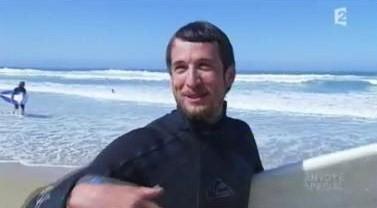 Guillaume Canet : «capitaine de bateau» et surfeur