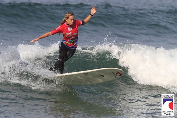 Planet Surf Festival : Justine Dupont Championne de France de Longboard