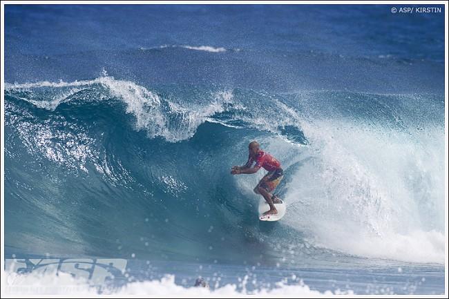 Kelly Slater chaud comme la braise à Puerto Rico !