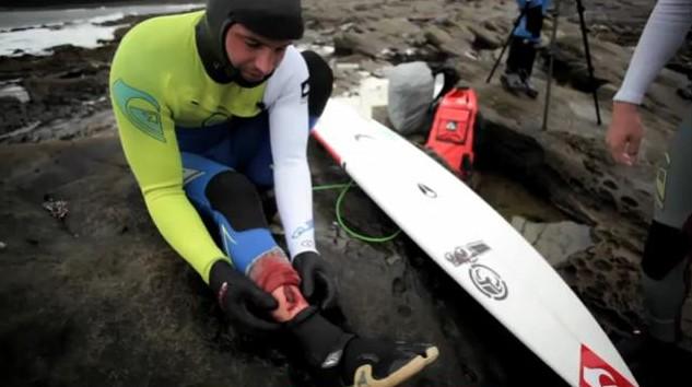 Un surfeur se blesse sérieusement sur un spot reculé du Canada