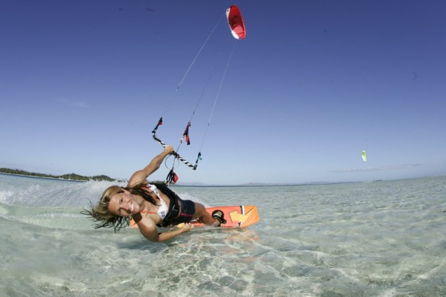 Charlotte Consorti : la Wonder Woman du Kite Surf !