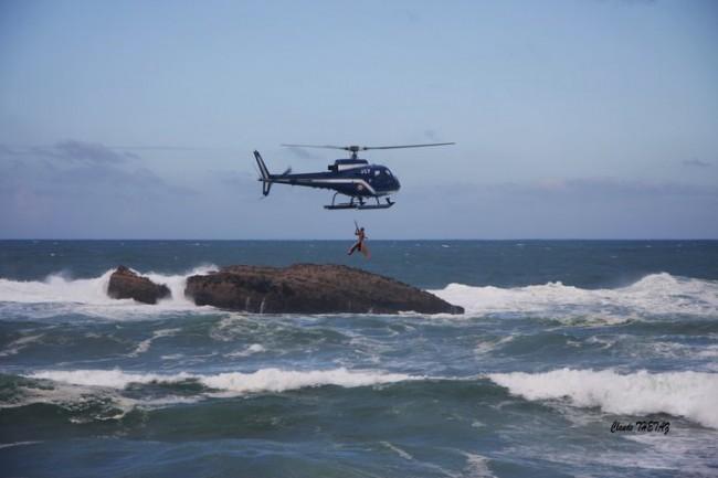 David Dubès sur son sauvetage à Biarritz : «un sauveteur seul n'est rien»