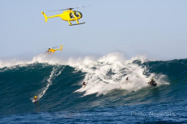 Les surfeurs sont des écolos (épisode 2) : le surf tracté par jet-ski