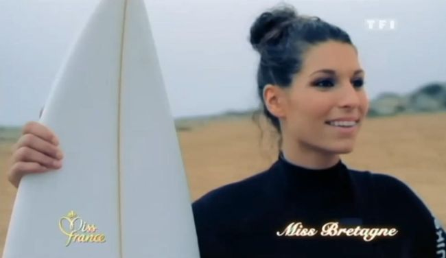Laury Thilleman la surfeuse de Bretagne élue Miss France 2011 !