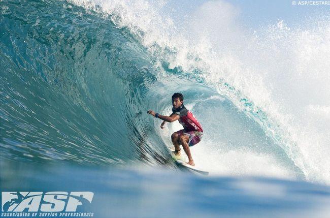 La vague du jour : le tube de Jeremy Flores à Backdoor !