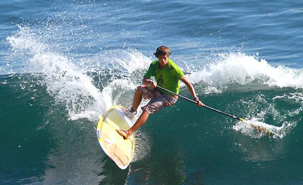 Kai Lenny Champion du Monde de SUP surf 2010