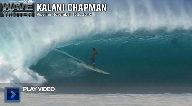 La prière de Kalani Chapman pour Andy Irons dans le tube de Pipeline