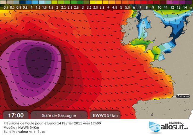 Surf Alerte sur l'Atlantique : Belharra mercredi matin ?