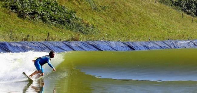 Wavegarden : la nouvelle technologie de vagues artificielles en pleine nature