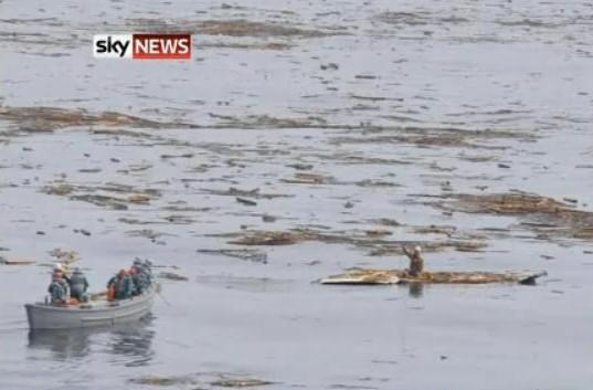 Hiromitsu Shinkawa, le miraculé du tsunami au Japon (video du sauvetage)