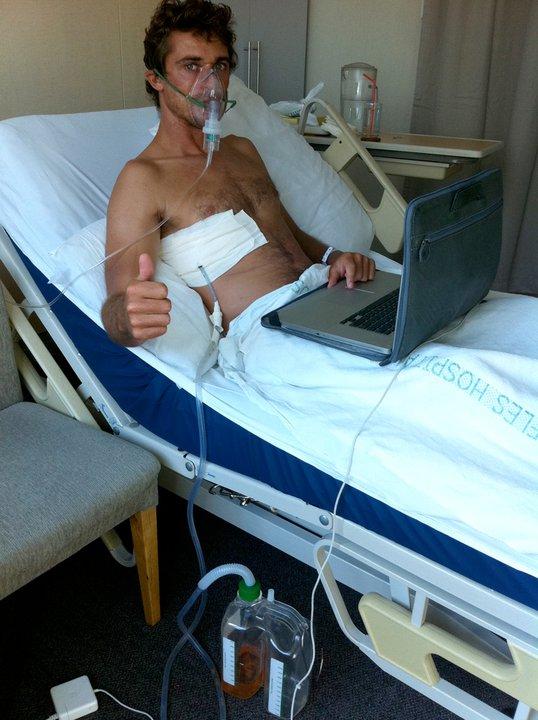 Enorme vague de générosité pour Sylvio victime d'un pneumothorax