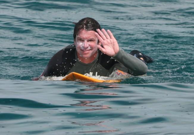 Un surfeur lance la crème solaire Evoa qui préserve le corail