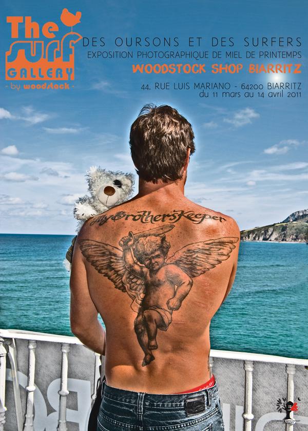 Surf Art : les meilleurs surfeurs du monde et des Oursons !