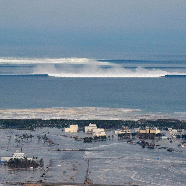 Le séisme au Japon provoque une vague de tsunami dévastatrice