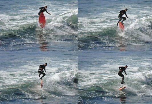 Zoltan Torkos : un kick flip en surf pour protester contre la violence