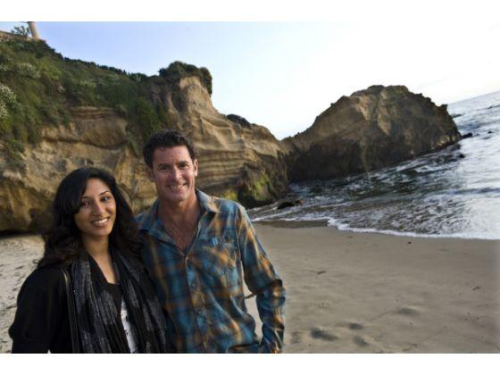 James Pribram sauve une jeune femme de la noyade