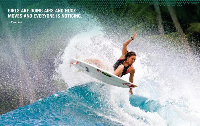 Film «Leave a message» : où va le surf féminin ?