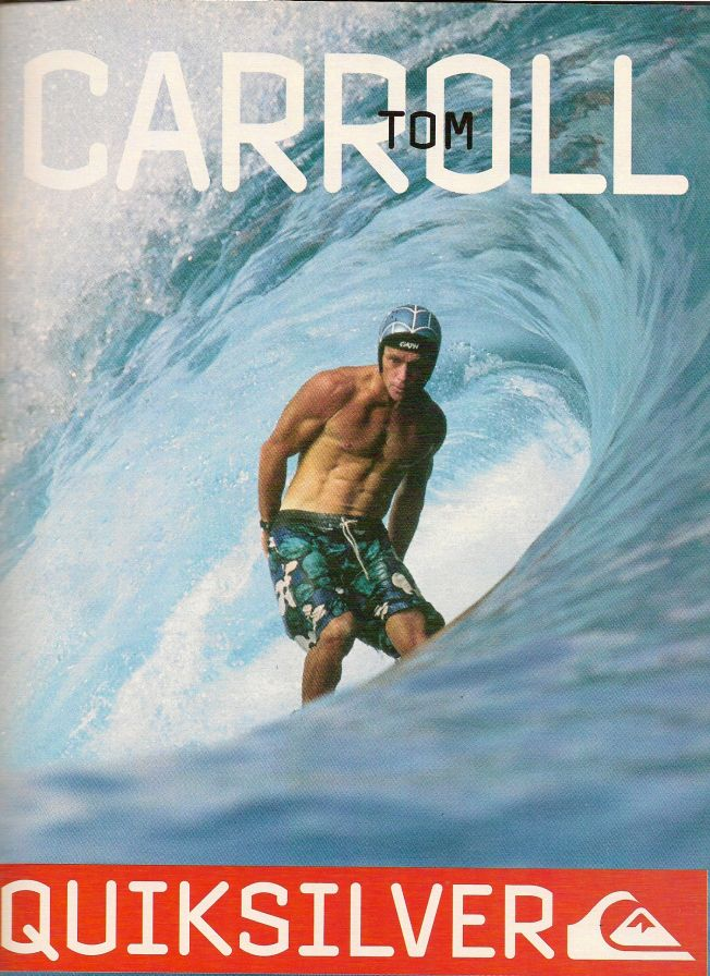 Culture Surf Pub : Tom Carroll dans le barrel avec son Gath