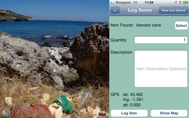 Marine Debris Tracker : traquer les déchets avec son smartphone