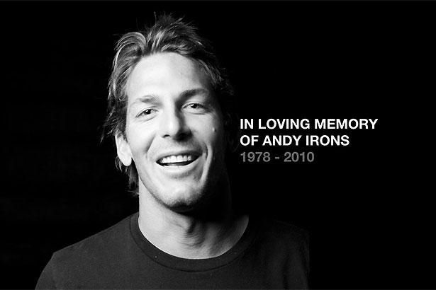 Andy Irons mort d'un infarctus du myocarde