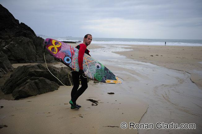 Aurélien Jacob : une vie de surf et d'eau fraîche