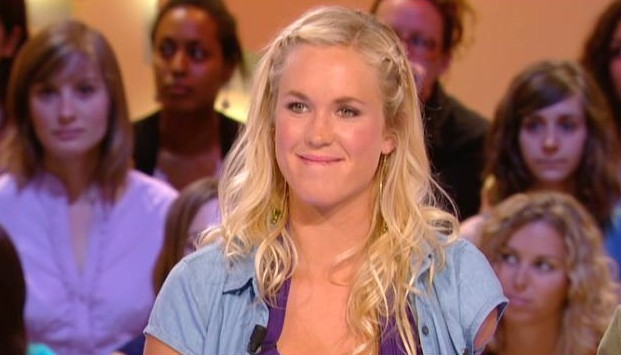 La surfeuse Bethany Hamilton au Grand Journal de Canal Plus