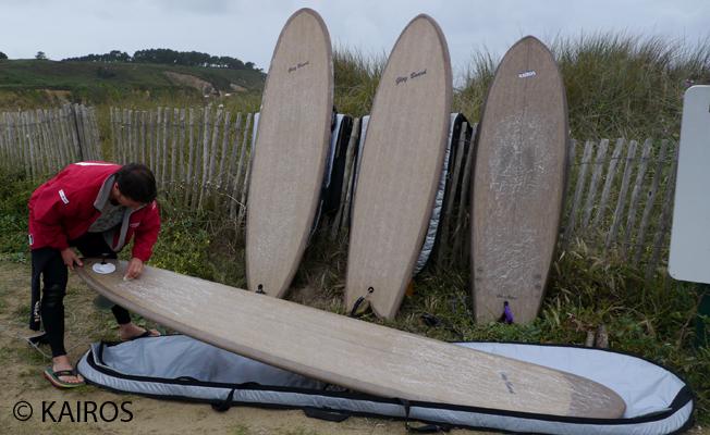 Roland Jourdain : le surf, le lin et les bateaux