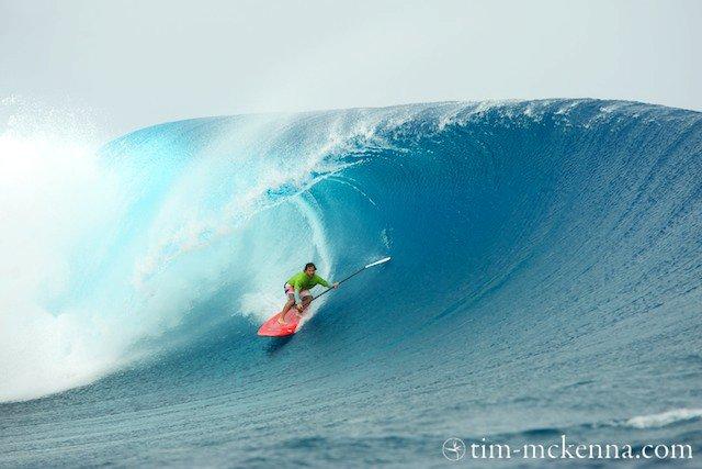 SUP : Peyo Lizarazu remporte le Sapinus Pro à Tahiti