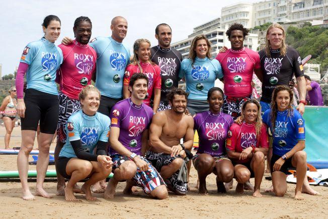 Roxy Charity Surf de Biarritz : une compétition amicale pour Surf and Hope