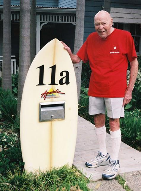 Insolite : recycler sa planche de surf en boîte aux lettres…