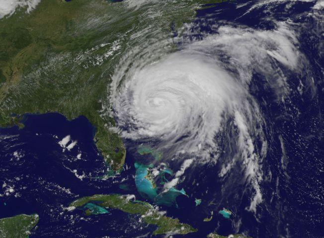 Ouragan Irene : de grosses vagues sur New York et la Côte Est des Etats-Unis