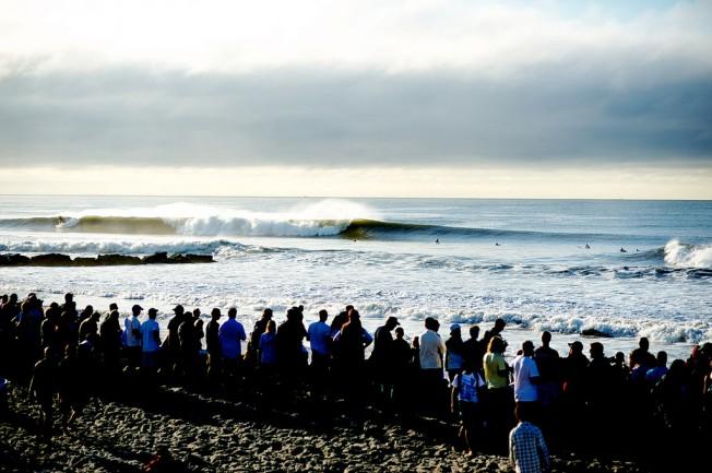 Du surf pour commémorer les attentats du 11 septembre à New York