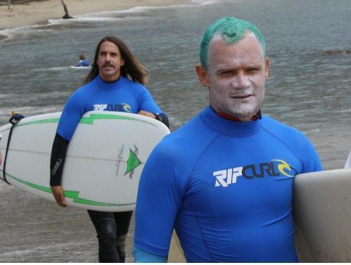 Surf Musique : les Red Hot Chili Peppers au bord de l'eau