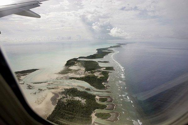 Changement climatique : pendant le sommet de Durban, l'eau continue de monter aux Kiribati…